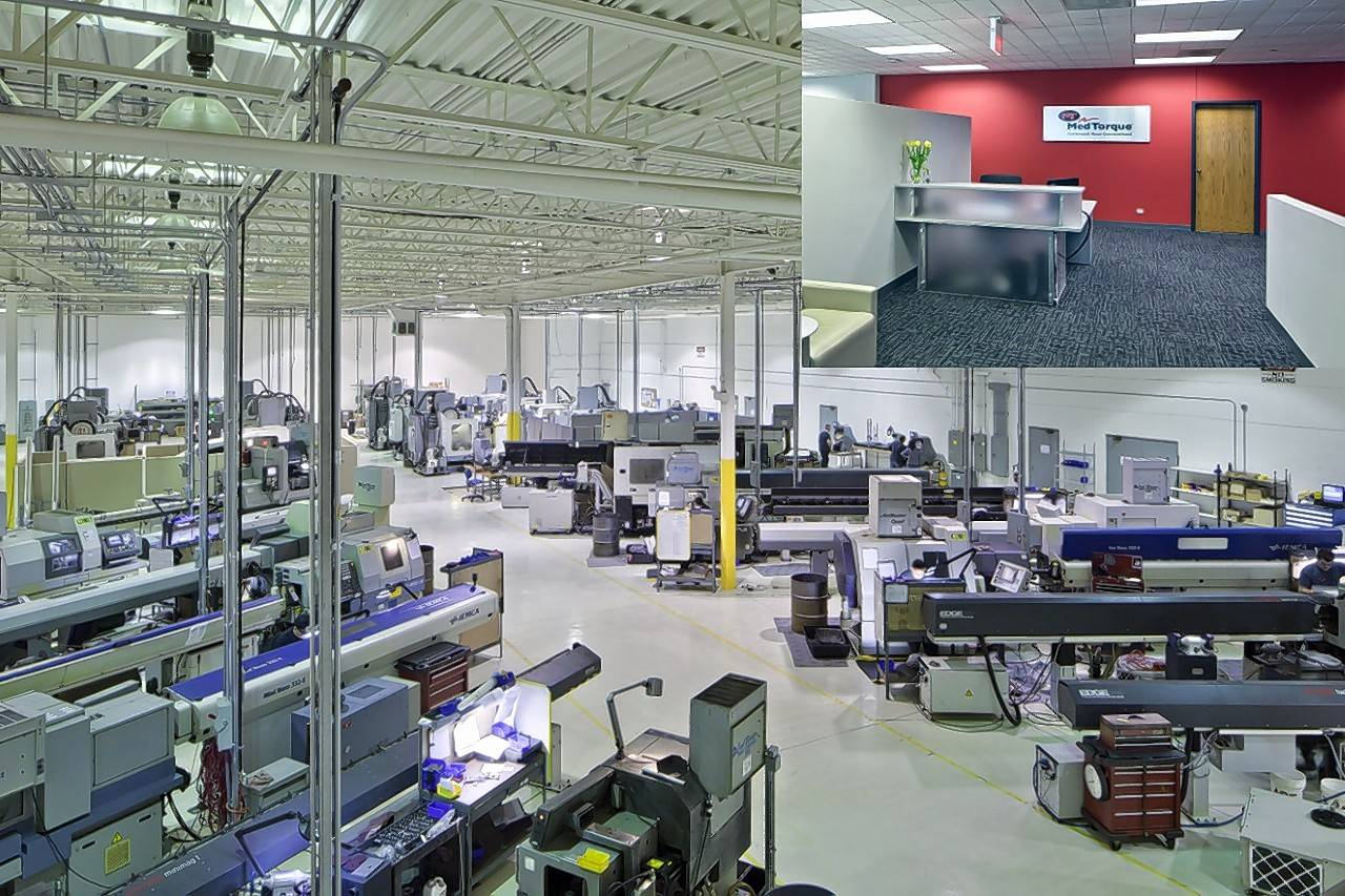 Peak Construction Corp. in Des Plaines completed a 38,000-square-foot tenant improvement for MedTorque in Elmhurst.