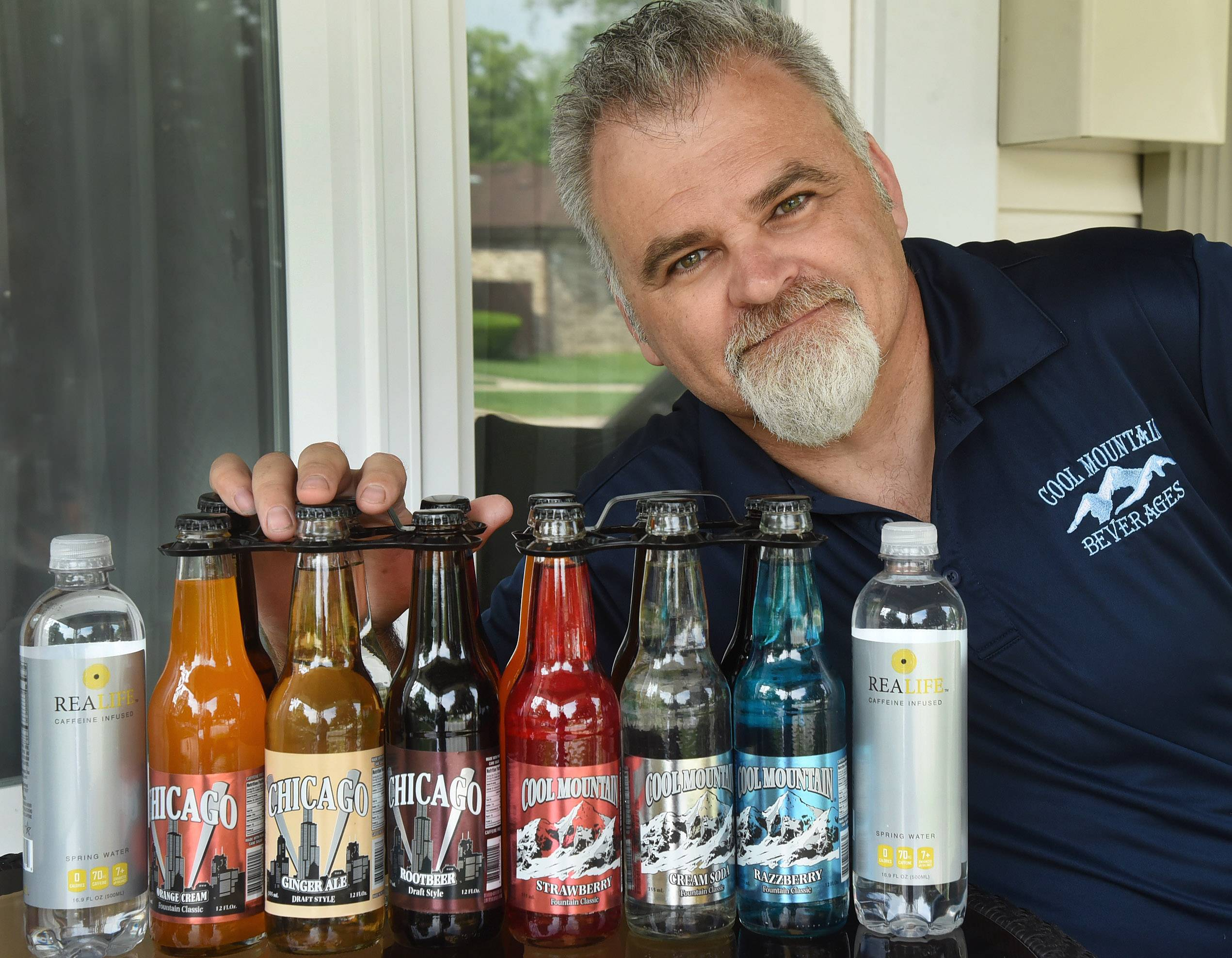 Bill Daker has been operating Cool Mountain Beverages for 20 years in Des Plaines.