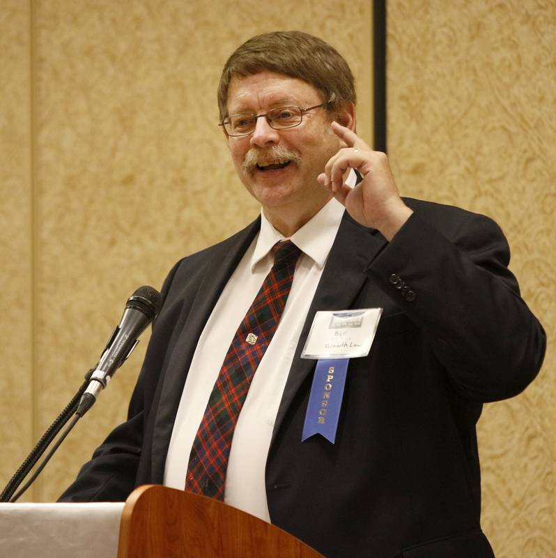 "Business lawyer Bill Price spoke Thursday during the Newsmakers' Forum, ""Managing A Family Business"" at the Hilton Hotel in Lisle."
