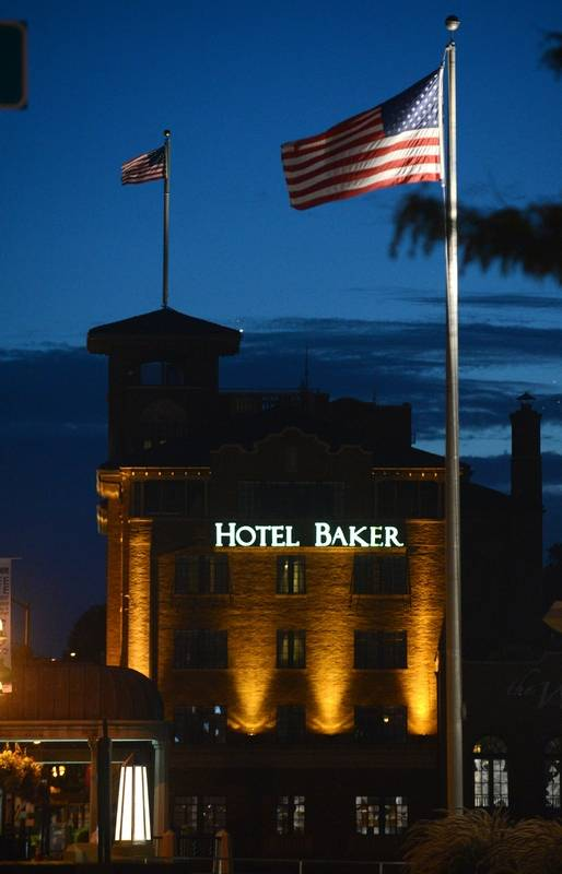 Hotel Baker in downtown St. Charles.