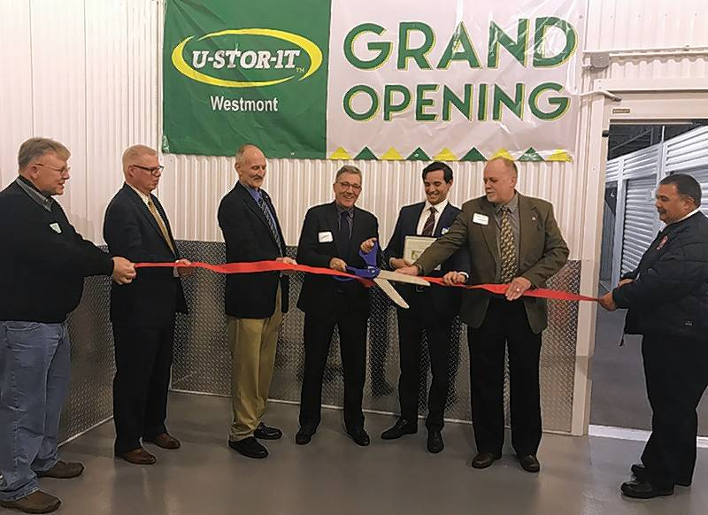 The Westmont Chamber of Commerce and Tourism Bureau and the Village of Westmont welcomed U-Stor-It Self Storage, 701 N. Blackhawk Drive, Westmont. U-Stor-It is committed to providing area business and residents with clean, affordable self-storage in an environment.