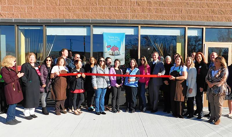 The Lake Zurich Area Chamber of Commerce recently held a ribbon cutting for Nothing Bundt Cakes, 20413 N. Rand Road, Kildeer.