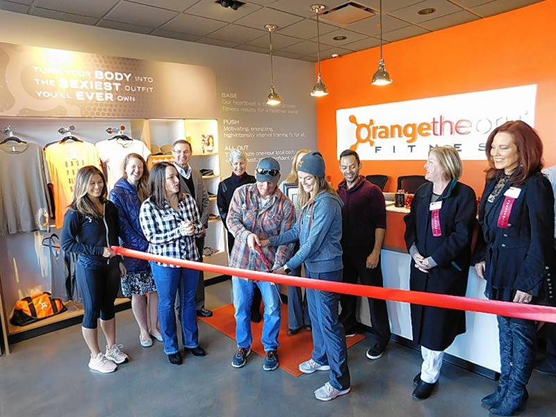The Lake Zurich Area Chamber of Commerce recently held a ribbon cutting for Orange Theory Fitness, 20393 N. Rand Road, Kildeer.