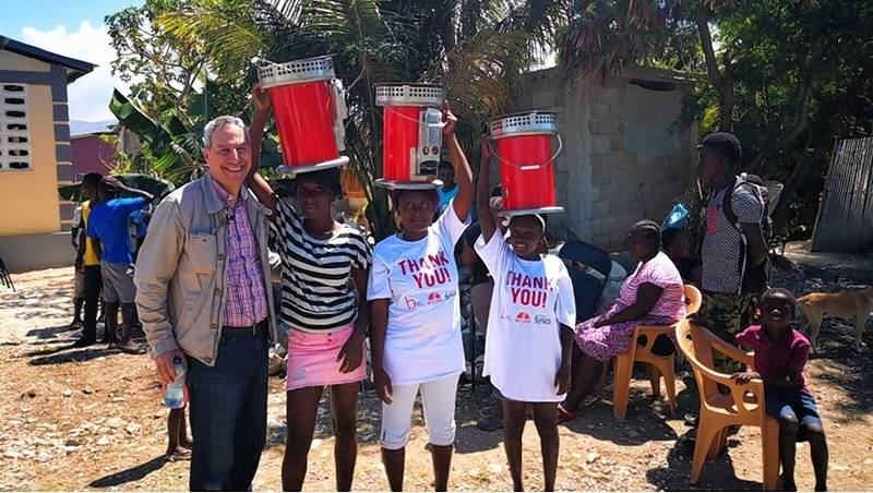 Selim Bassoul, CEO of The Middleby Corp., recently went to Haiti to deliver relief ovens to those in need.