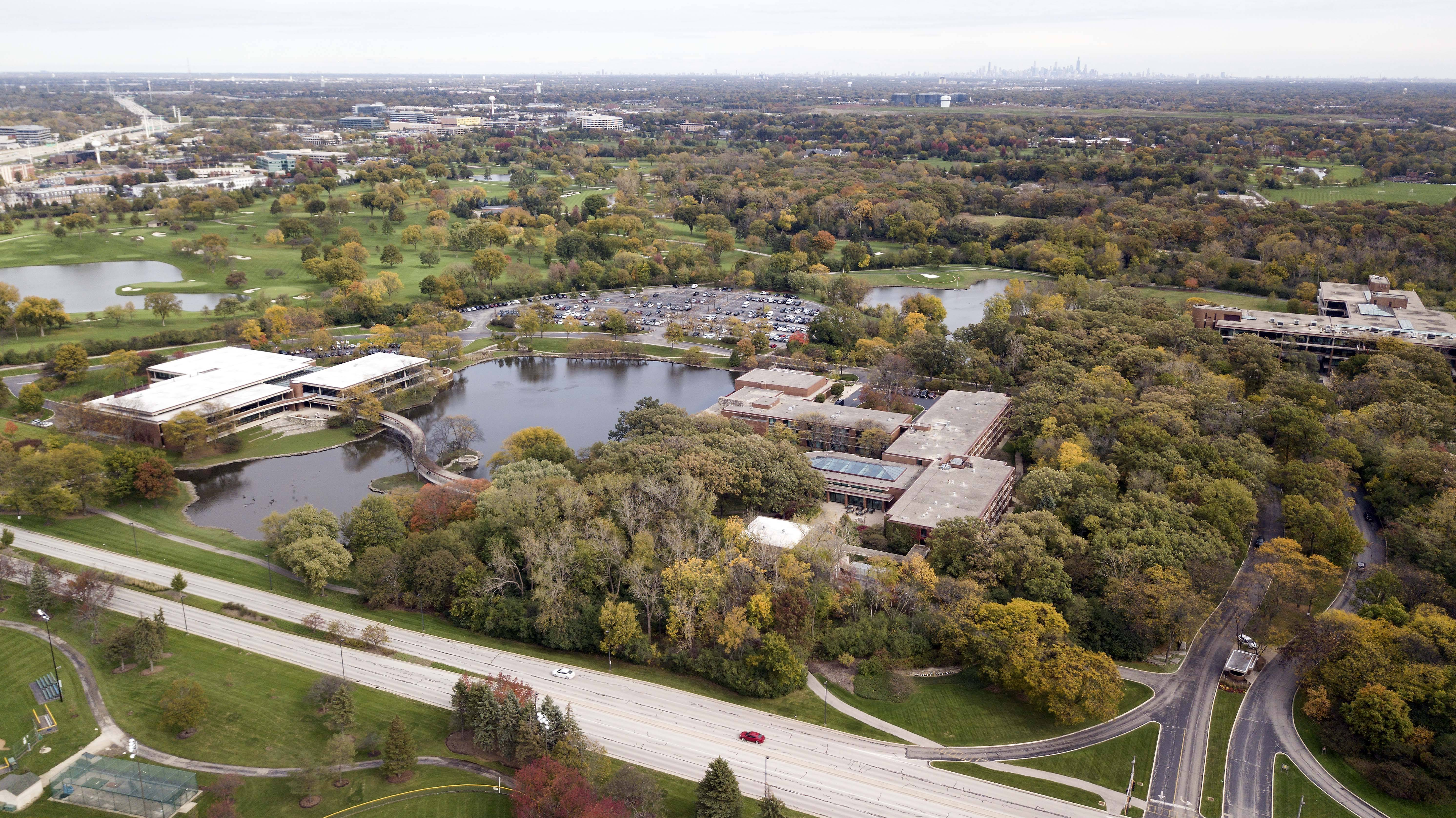 McDonald's campus, in Oak Brook, is one of the possibilities for the new Amazon headquarters.