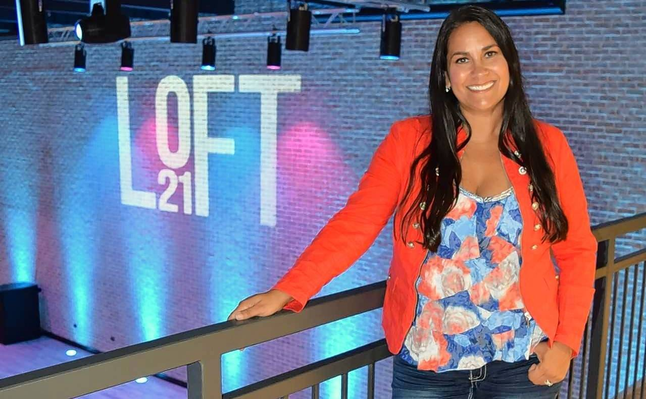 Jazmine Gonzalez, owner of Loft 21 in Lincolnshire.