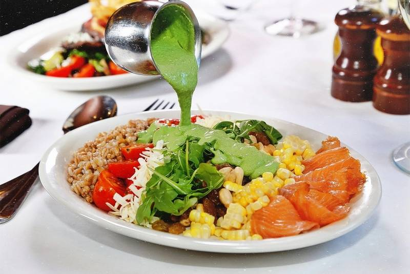 The smoked salmon salad is a new lunch offering at Francesca's restaurants.