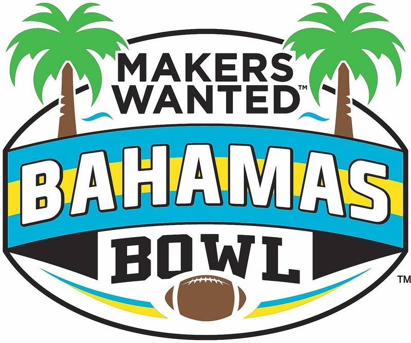 The logo for the Makers Wanted Bahamas Bowl