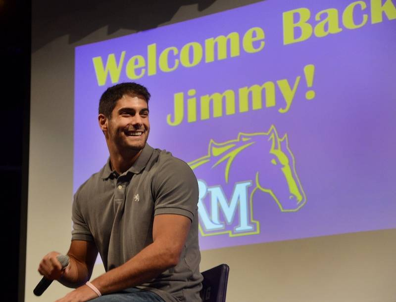 NFL Quarterback Jimmy Garoppolo will participate in SkillsUSA and Klein Tools' first National Signing Day on May 8.