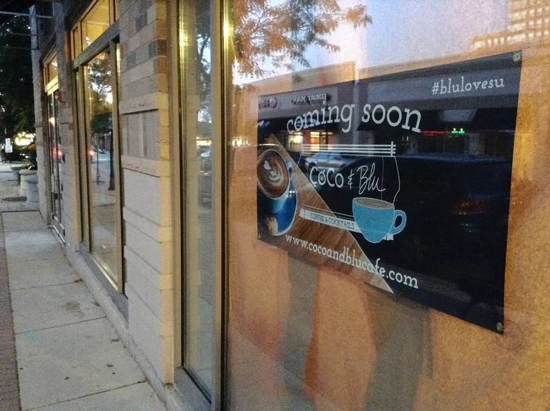Interior renovations are underway at 12 S. Dunton Ave. in downtown Arlington Heights, where CoCo & Blu coffee bar plans to open next month.
