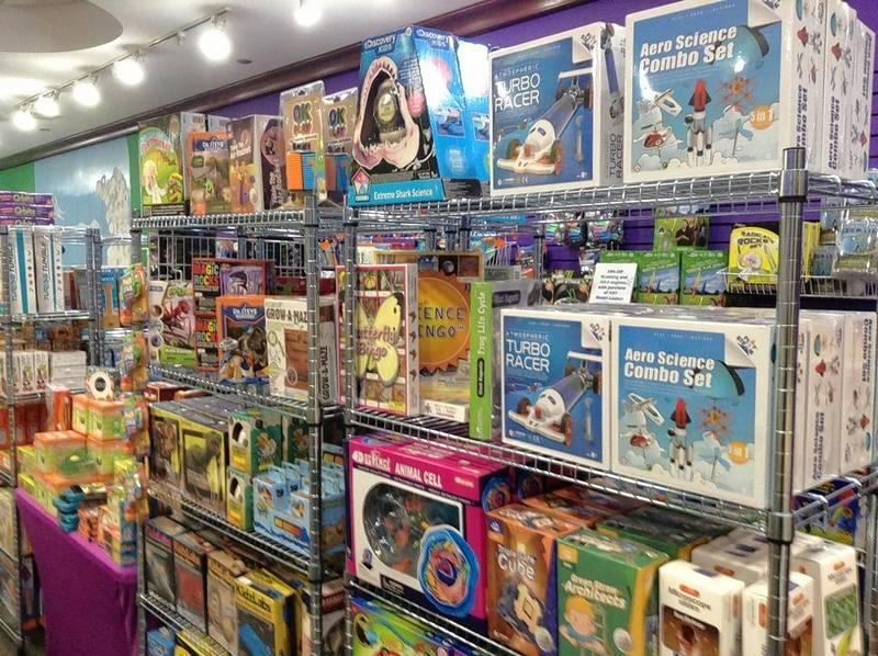 All of the toys and games at Purple Me Green, The Science Store at Woodfield Mall in Schaumburg can be paired with a science lesson or are directly based on STEM (science, technology, engineering and math) principles, owner Mary Stupen said.