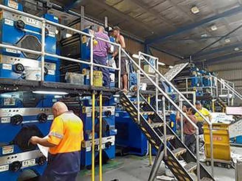 Woodridge-based  Tensor International was awarded a contract to add a new H-50 folder with quarter folder to the Papua New Guinea Post-Courier's 18-unit T1400 press.