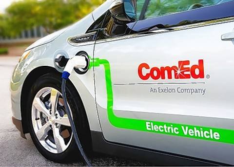 ComEd's new fleet electrification plan calls for replacing all of its light duty vehicles with electric vehicles by 2030.