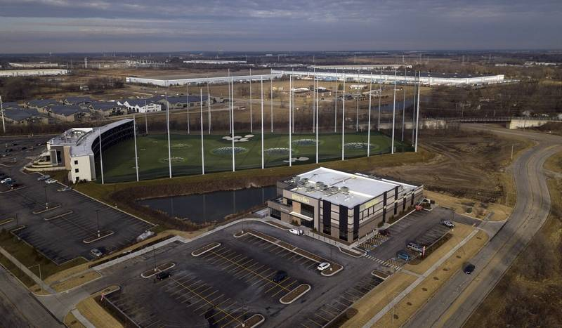 WhirlyBall and Topgolf in northwest Naperville are expected to be incorporated into a proposed $200 million mixed-use destination near the Route 59 and Interstate 88 interchange.