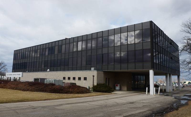 A long-standing 3-story office building at 2300 E. Higgins Road on the east side of Elk Grove Village will be converted into a 60-room hotel, according to a hotel management group's plans.